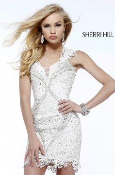 Rochie Sherri Hill 9803 Ivory