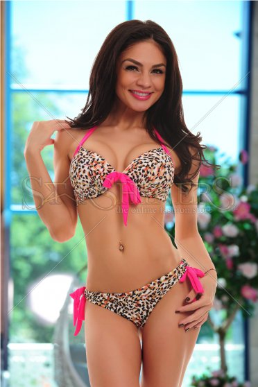 Costum De Baie Magic Bermude Pink