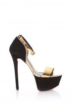 Sandale Mineli Boutique Din Piele Naturala Special Black
