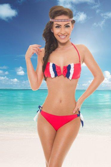 Costum De Baie Delicious Summer Coral