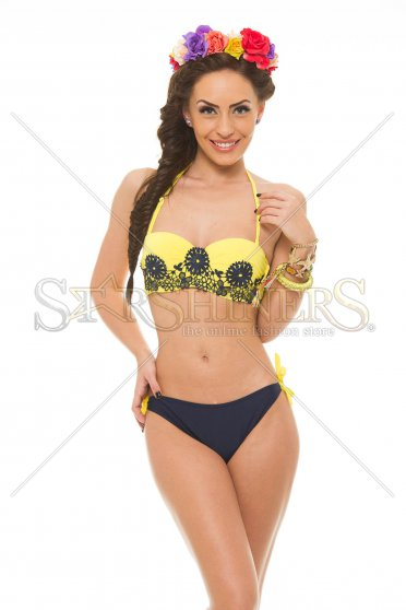 Costum De Baie Sunny Rebound Yellow