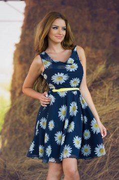 Rochie LaDonna Flowers Miracle Yellow