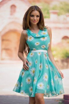 LaDonna Flowers Miracle Green Dress