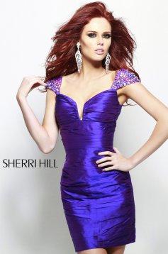 Rochie Sherri Hill 2945 Purple