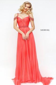 Rochie Sherri Hill 50086 Coral