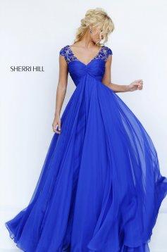 Rochie Sherri Hill 50045 Blue
