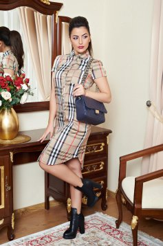 Rochie Fofy Celebrity Style Brown