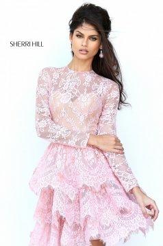 Rochie Sherri Hill 50686 Rosa