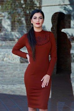 Rochie LaDonna Inspired Elegance Brown