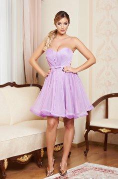 Ana Radu lila occasional corset dress with push-up cups