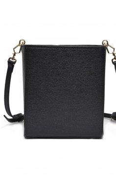 Geanta dama Top Secret neagra casual cu manere de lungime medie