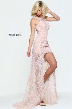 Rochie Sherri Hill 51057 Rosa