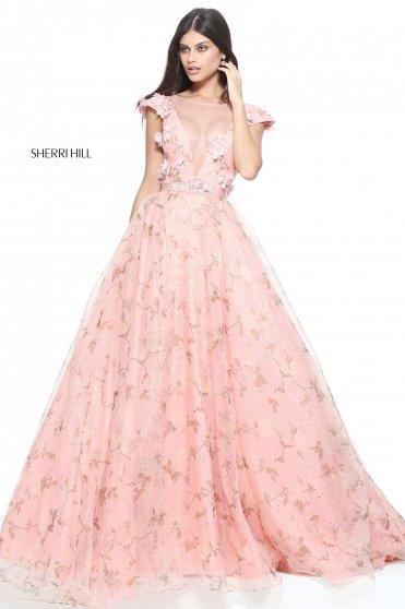 Rochie Sherri Hill 51104 Rosa