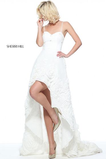 Rochie Sherri Hill 51153 White