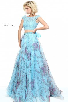 Rochie Sherri Hill 51176 Blue