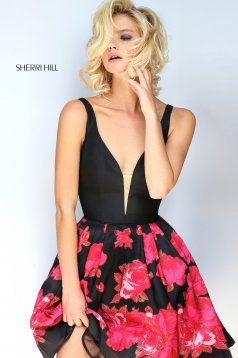 Rochie Sherri Hill 51180 Black