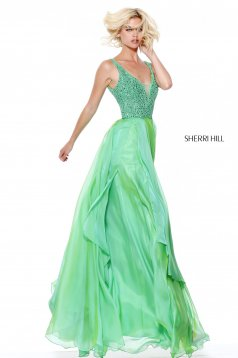 Rochie Sherri Hill 50801 Green