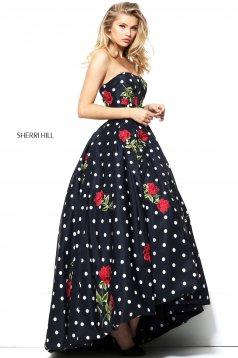 Rochie Sherri Hill 50945 Black
