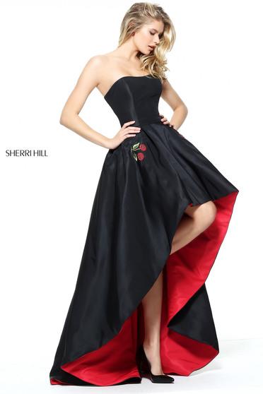 Rochie Sherri Hill 51035 Black