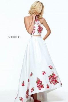 Rochie Sherri Hill 51042 White