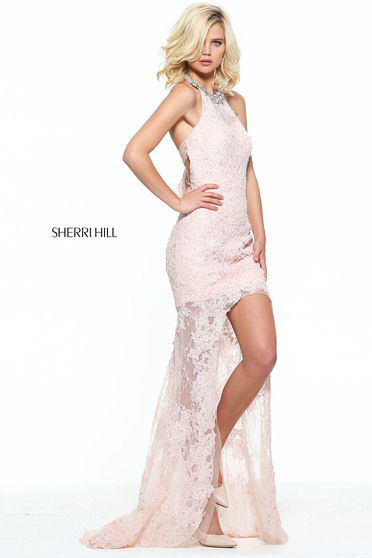 Rochie Sherri Hill 51058 Rosa