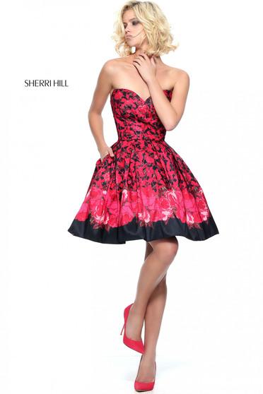 Rochie Sherri Hill 51179 Black