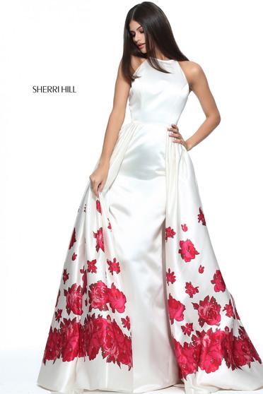 Rochie Sherri Hill 51193 White