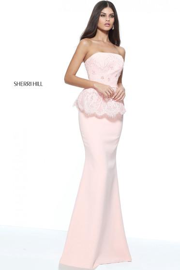 Rochie Sherri Hill 51213 Rosa