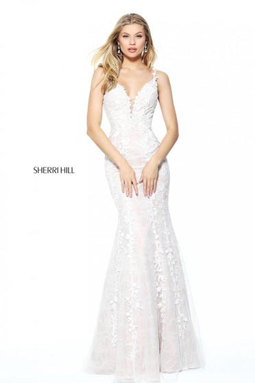 Rochie Sherri Hill 50938 White