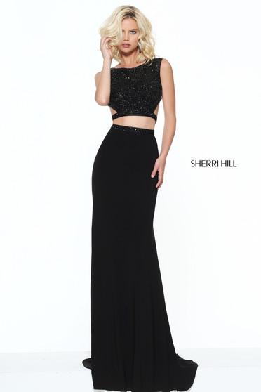 Rochie Sherri Hill 50805 Black