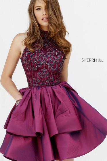 Rochie Sherri Hill 32338 Purple