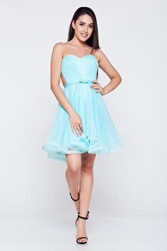 Ana Radu lightblue occasional corset dress with push-up cups