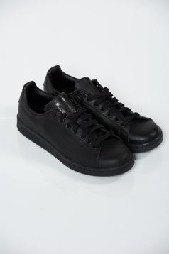 Pantofi sport Adidas Originals Stan Smith negri casual cu talpa usoara