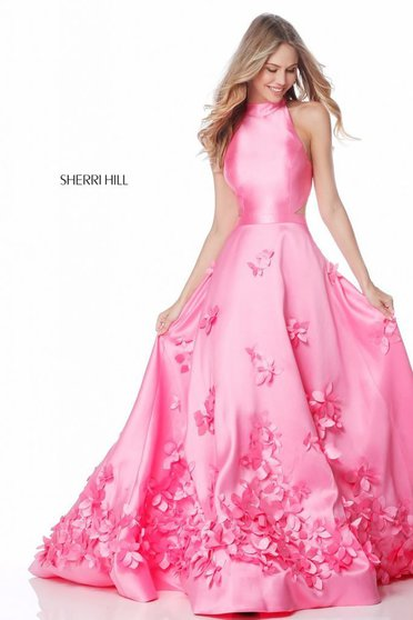 Rochie Sherri Hill 51116 pink