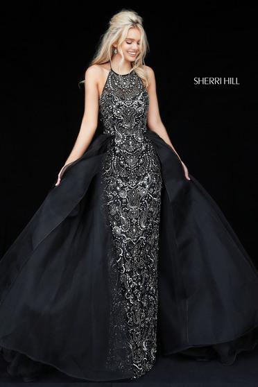 Rochie Sherri Hill 51376 Black