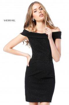 Rochie Sherri Hill 51425 Black