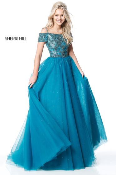 Rochie Sherri Hill 51450 Turquoise
