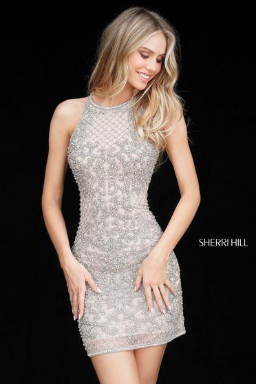 Rochie Sherri Hill 51501 nude