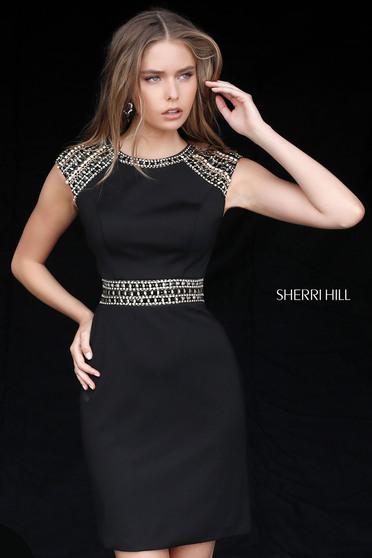 Rochie Sherri Hill 51523 Black