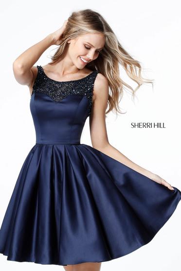 Rochie Sherri Hill 51524 Navy