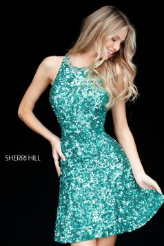 Rochie Sherri Hill 51431 Green