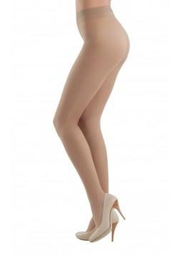 Dres dama nude Prestige 20 den cu banda elastica care nu aluneca si calcai curbat