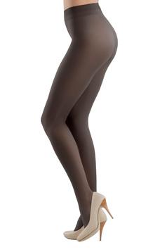 Dres dama negru Prestige 20 den cu banda elastica care nu aluneca si calcai curbat