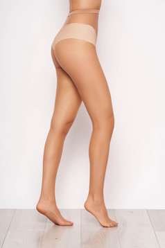 Nude net women`s tights from elastic fabric