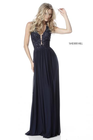 Rochie Sherri Hill 51553 Black