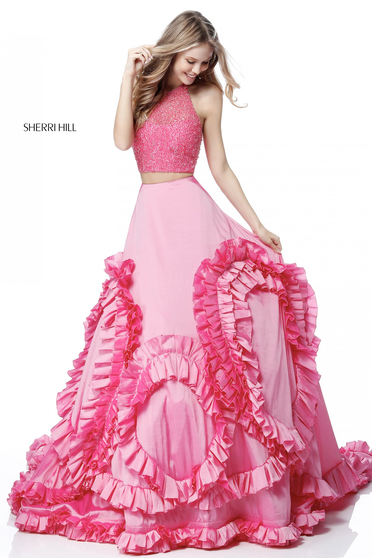 Rochie Sherri Hill 51577 Pink