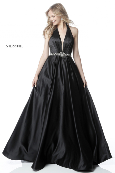 Rochie Sherri Hill 51588 Black