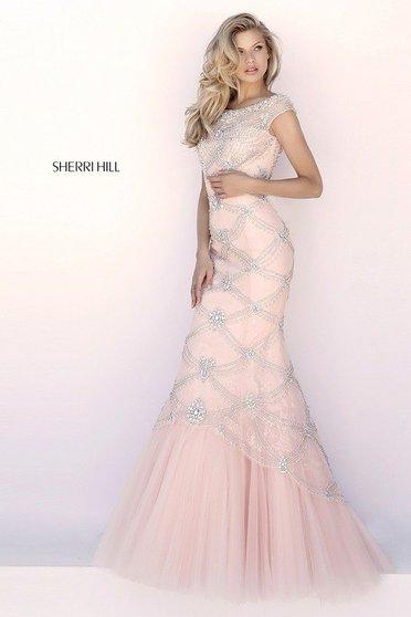 Rochie Sherri Hill 51593 Rosa
