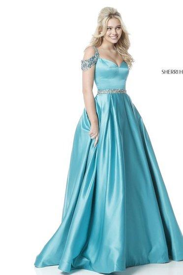 Rochie Sherri Hill 51613 Turquoise