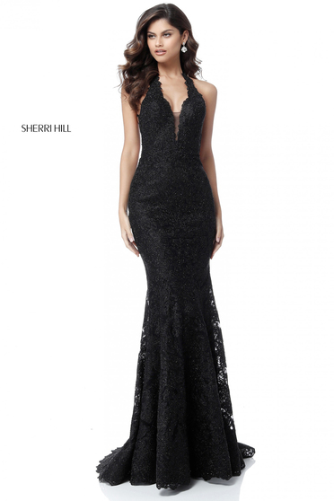 Rochie Sherri Hill 51616 Black